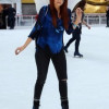 Debby Ryan straps on her Wings & Skates